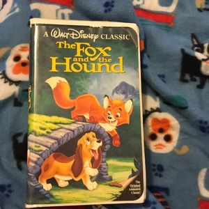 Fox and the hound black diamond vhs
